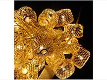 Гирлянда колесо фортуны Золото LED 20