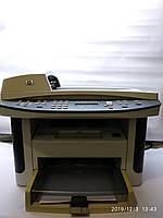 Лазерный МФУ HP LaserJet 1522nf без лотков, рабочий, с картриджем