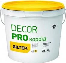 Штукатурка декоративная Siltek Decor Silicon Pro силиконовая, 2,0мм, камешковая, 25кг., DA
