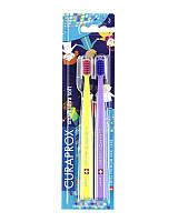 Набор зубных щеток Curaprox CS Smart (Small World Edition) (5-12 лет) (2 шт.)