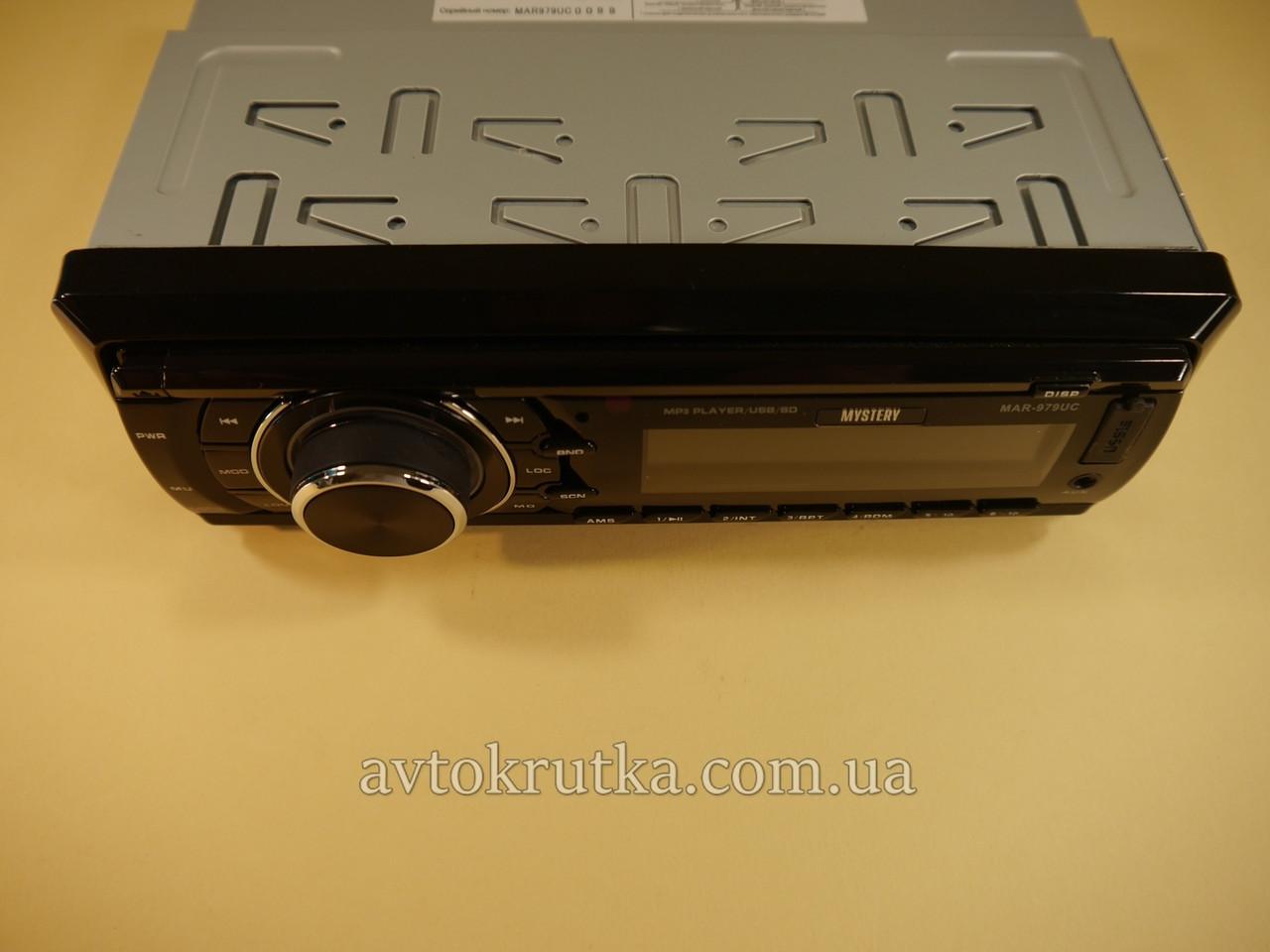 Автомагнитола Mystery MAR-979UC. Магнитола в машину