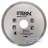 Алмазный диск Stern 115 х 5 х 22,23 Плитка