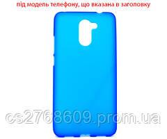 "Чехол чохол силікон ""S"" Samsung S7272/Ace 3 синій"