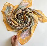10730-2, павлопосадский платок из вискозы с подрубкой, фото 9