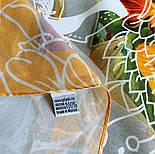 10730-2, павлопосадский платок из вискозы с подрубкой, фото 5