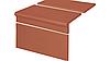 Клинкерная ступень крыльцо King Klinker (01) Набор Римский гладкий 310/175х245х12