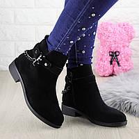 Ботиночки женские черные Lade 1396