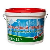 Акцент-117 - паропрницаемый акриловый герметик для межпанельных швов , белый (уп. 7 кг)