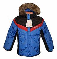 Зимняя куртка на мальчика. Рост 140-146