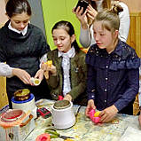 Семейный мастер-класс по изготовлению восковых свечей, фото 5