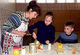 Семейный мастер-класс по изготовлению восковых свечей, фото 7
