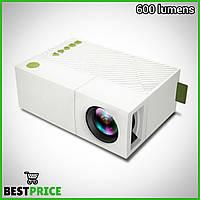 Домашний портативный видео проектор YG-310 домашний кинотеатр