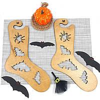 Деревянные блокаторы ′Хэллоуин′ для носков, формы для сушки, блокираторы