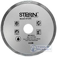 Алмазный диск Stern 125 х 5 х 22,23 Плитка
