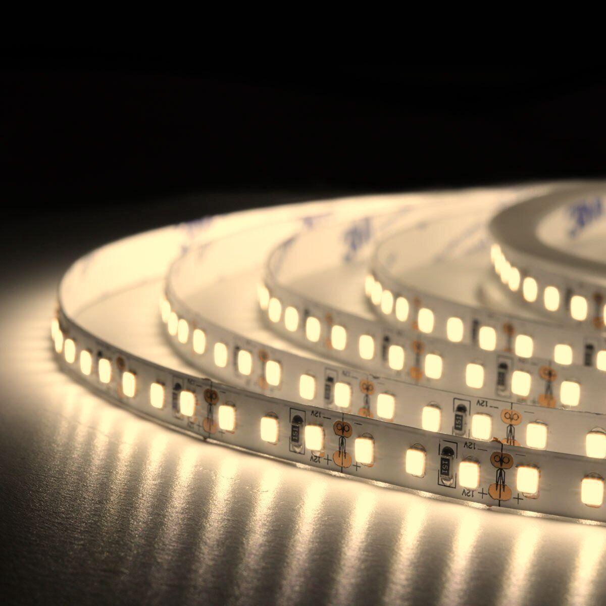 Светодиодная лента 12v 5м 2835-120 IP20 нейтральная