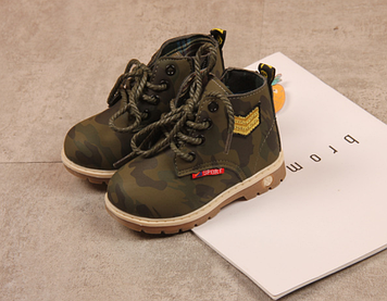 Демисезонные детские ботинки Детские ботинки весна осень Ботинки для мальчика