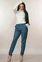 Женский костюм с гольфом и велюровыми брюками (Бэйс-роу ri), фото 2