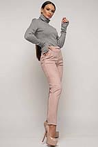 Женский костюм с гольфом и велюровыми брюками (Бэйс-роу ri), фото 3