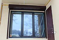 Антивандальные роллеты для окон (профиль Н50) ТМ Хардвик ш1000, в1000, фото 2