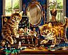 Раскраска по цифрам Шкатулка с драгоценностями (VP462) 40 х 50 см