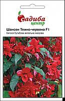 Семена Бегония Шансон F1 темно-красная 10 шт, Cerny