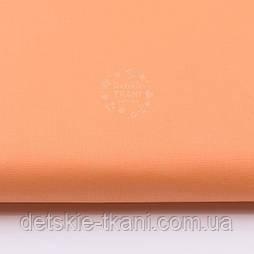 Однотонна бязь морквяного кольору №2434