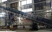 Поставлений стрічковий транспортер для великого виробника паперових виробів