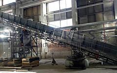 Поставлен ленточный транспортер для крупного производителя бумажных изделий