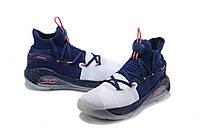 Мужские Баскетбольные кроссовки  Under Armour Curry 6(Blue/white), фото 1