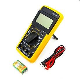 Мультиметр цифровой DT9205A с функцией автоотключения (ток до 20A)