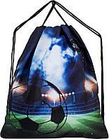 Мешок для сменной обуви для мальчика черный Футбол Winner M-10
