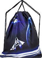 Мешок для сменной обуви для мальчика синий Космос Winner M-12