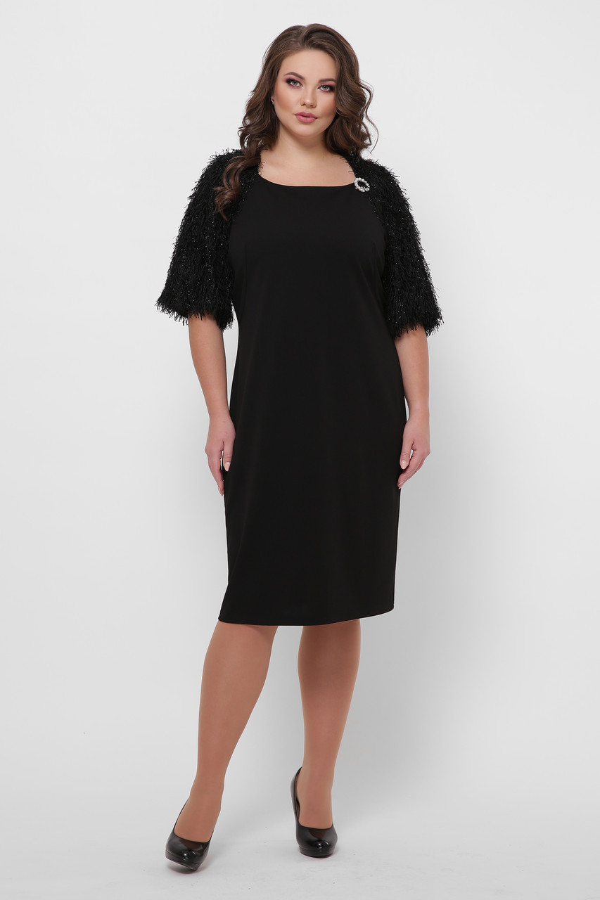 Женское платье Джаз  черное