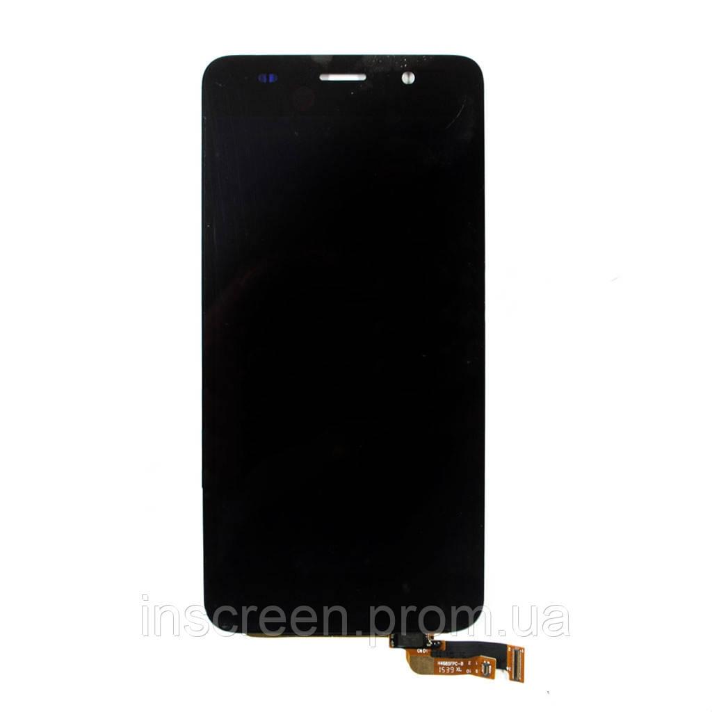 Дисплей Huawei Y6 (2015), Honor 4A SCL-L01, SCL-L04, SCL-L21 з сенсором (тачскрін) чорний