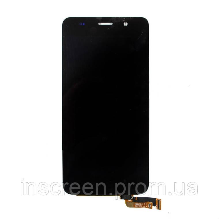 Дисплей Huawei Y6 (2015), Honor 4A SCL-L01, SCL-L04, SCL-L21 з сенсором (тачскрін) чорний, фото 2