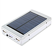 Универсальная батарея Solar PowerBank + Led 50000 mAh Black, портативное зарядное устройство, фото 3