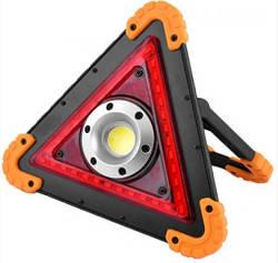Прожектор LL301-W837-COB-36SMD, красные светодиоды MHZ, с Power Bank