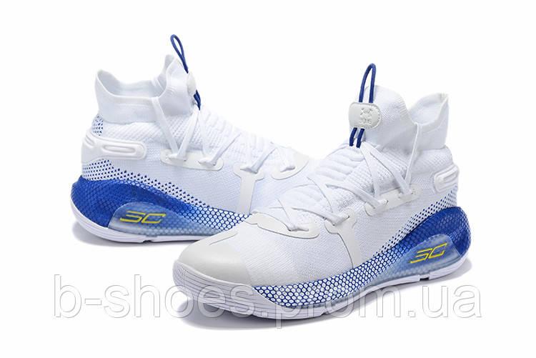 Мужские Баскетбольные кроссовки  Under Armour Curry 6(White)