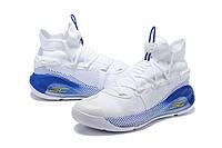 Мужские Баскетбольные кроссовки  Under Armour Curry 6(White), фото 1
