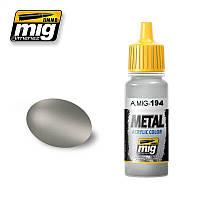 Краска для моделей Металлик алюминий 17 мл. AMMO MIG A.MIG-194