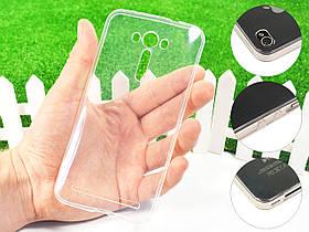 Ультратонкий 1мм силиконовый чехол для Asus Zenfone 2 Laser ZE550KL