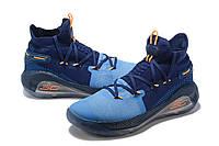 Мужские Баскетбольные кроссовки  Under Armour Curry 6(Blue/navy), фото 1