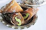 Лукум- уголки KEYIFCE Турция с фисташками 400гр ,  восточные сладости, фото 3
