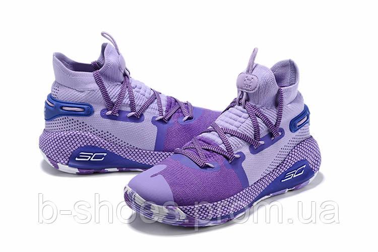 Мужские Баскетбольные кроссовки  Under Armour Curry 6(Wiolet)