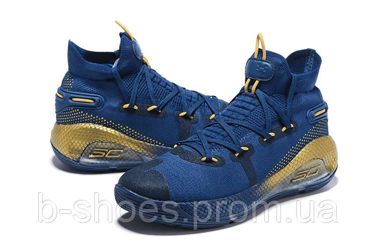 Мужские Баскетбольные кроссовки  Under Armour Curry 6(Dark blue)