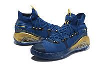 Мужские Баскетбольные кроссовки  Under Armour Curry 6(Dark blue), фото 1