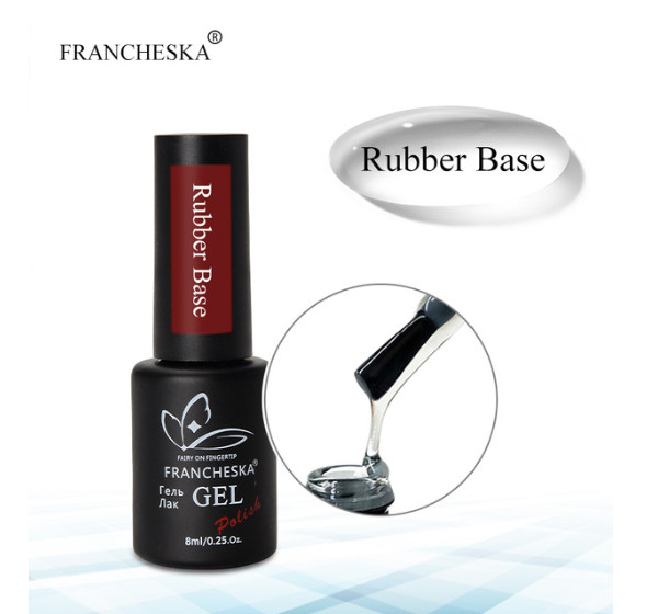 Rubber Base Gel Каучуковая база Francheska, 8 ml