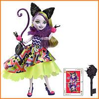 Кукла Ever After High Китти Чешир (Kitty Cheshire) из серии Way Too Wonderland Школа Долго и Счастливо