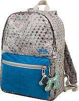 Городской молодежный подростковый рюкзак для девушек Winner one со звездами для подростков (228)