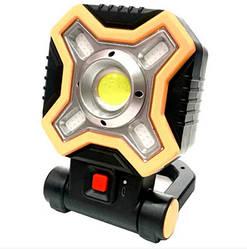 Прожектор Hurry Bolt HB-9957-COB(1+4), белый и красные светодиоды, на батарейках